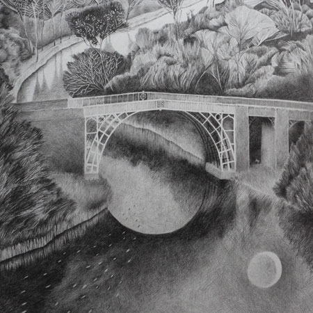 Severn Dreamscape (drawing)