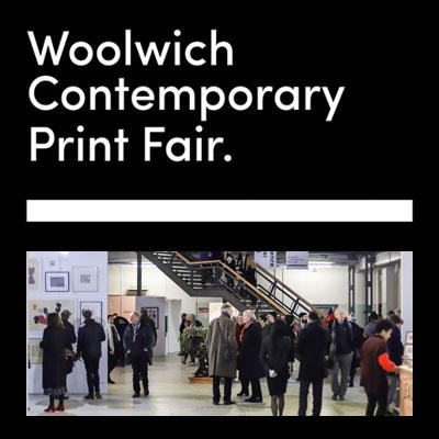 <i>See my work at the</i><BR>WOOLWICH CONTEMPORARY PRINT FAIR